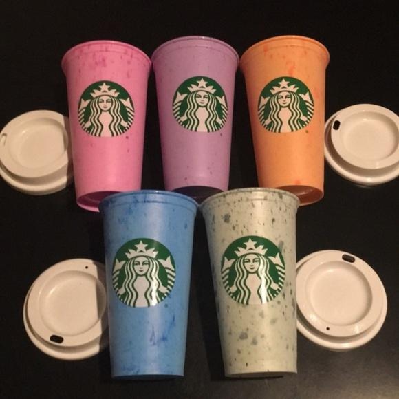 Starbucks Accessories - STARBUCKS Reusable Hot/Cold Cups